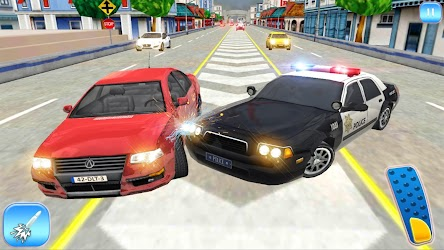 Police Cop Race in Highway Chase – New Games 2018