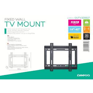 Suport TV de perete Omega, fix, 14