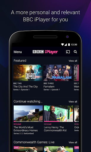 BBC iPlayer 4.60.0.1 screenshots 1