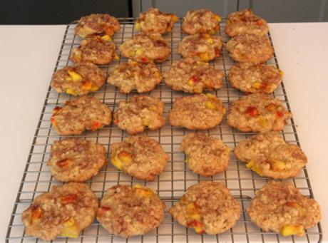 Drop spoonfuls on baking sheet lined with parchment paper or baking matt.Bake in preheated...