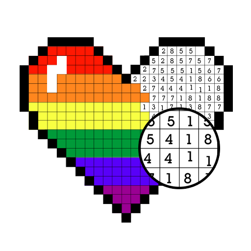 Color by Number - Pixel Art, Pixel Color 2018 Icon