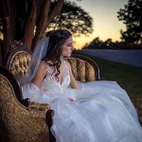 Jenn by Mitch Lassiter - People Portraits of Women ( bridal, bridal portrait, wedding, bride, engagement )