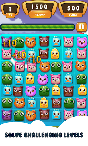 Pop Pet Puzzle Adventure