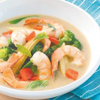 Weight Watchers Prawn & Green Bean Soup
