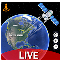 Live Earth Map Pro-Satellite View, World Map 3D icon