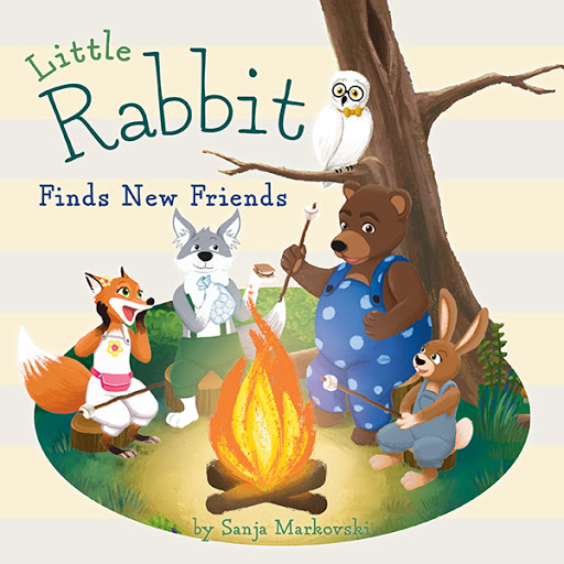 Little Rabbit Finds New Friends cover