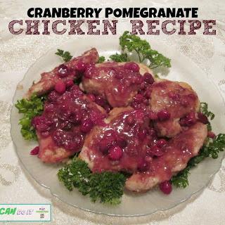 Cranberry Pomegranate Recipe for Chicken