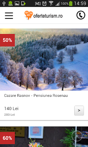 android OferteTurism Screenshot 1