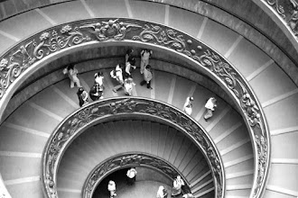 Photo: Steps at the Vatican City Museum