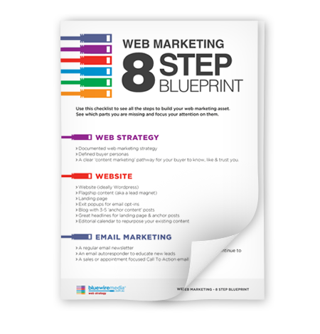 Web marketing 8 step blueprint malvernweather Image collections