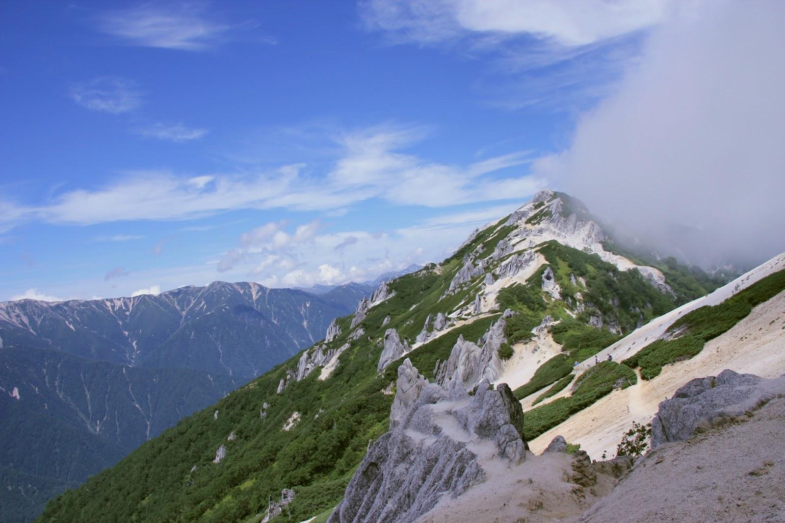 人気の燕岳|標高2763m!山頂まで約6時間