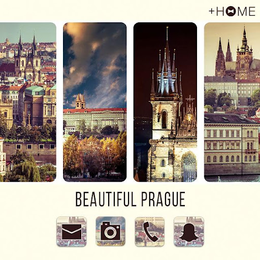 Beautiful Prague +HOME Theme 1.0.0 Windows u7528 1