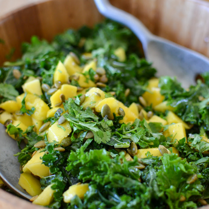 Kale Mango Salad – 6 Ingredient