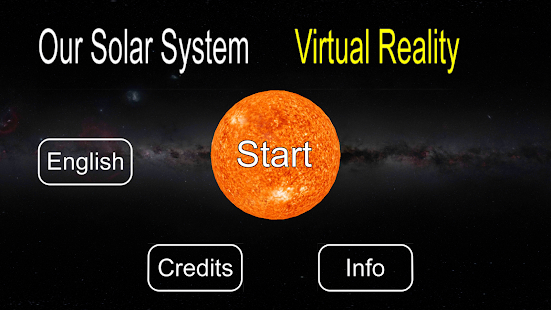 Our Solar System VR- screenshot thumbnail