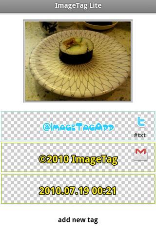 ImageTag - tag your images screenshot 1