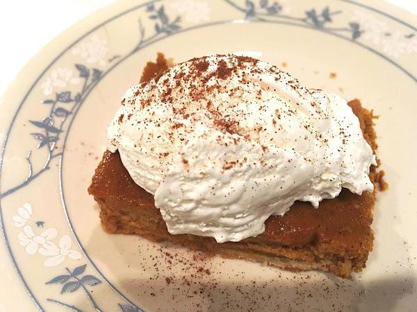 ~ Punkin Pan Pie ~ Recipe