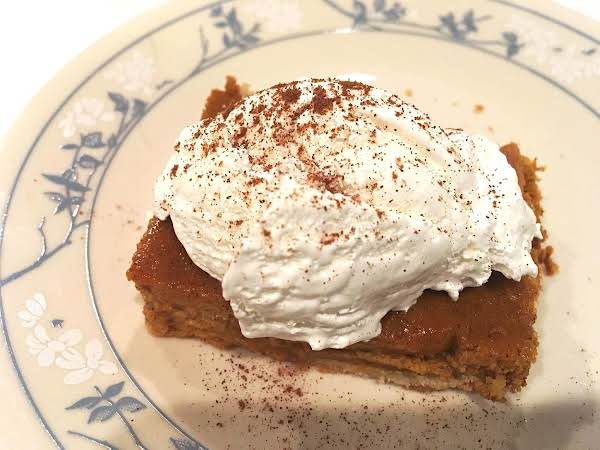 ~ Punkin Pan Pie ~ Recipe