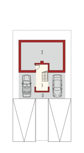 Box G2 - Rzut piwnicy