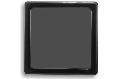 DEMCiflex magnetisk filter 120mm, firkantet, sort