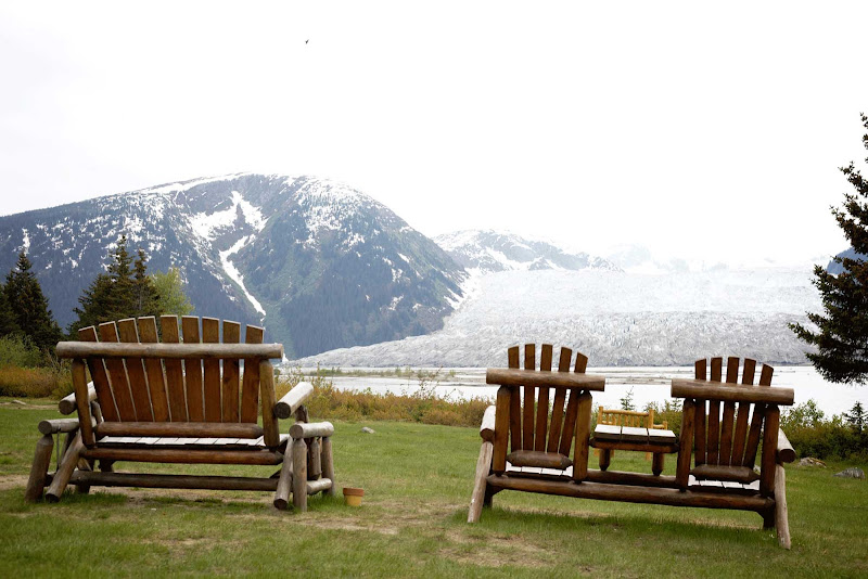 Head to Taku Glacier Lodge by seaplane for magnificent views of the surrounding wilderness, including five massive glaciers.