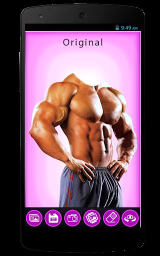 Men Body Builder Photo Editor
