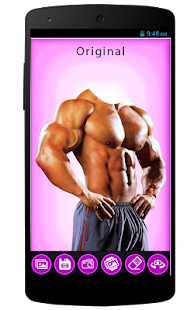 Men Body Builder Photo Editor - náhled
