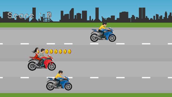motocyklový závodník - náhled