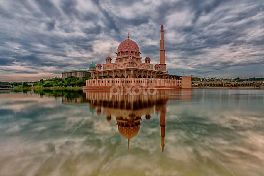 Reflections by Shah Akashah - Buildings & Architecture Places of Worship ( putra mosque )
