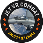Jet VR Combat Fighter Flight Simulator VR Game icon