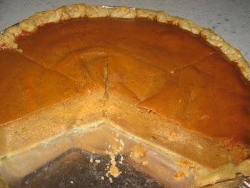1- 2 - 3  Pumpkin Pie Recipe