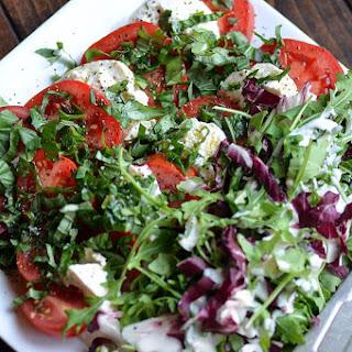 Mediterranean Simple Salad Recipe