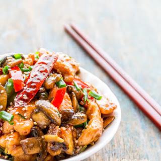 Chicken & Mushroom Stir-Fry *Video Recipe*.