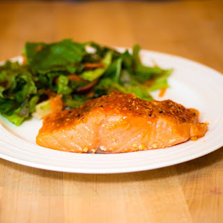 Sous Vide Miso Maple Salmon