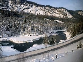 Photo: quelques paysages vus depuis le train Oslo - Bergen