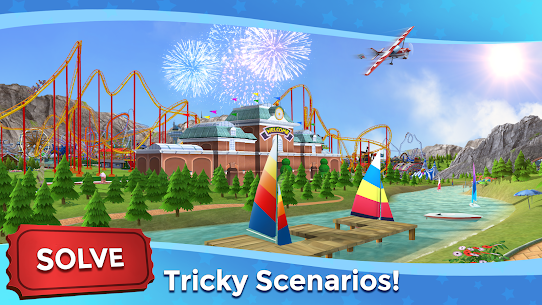 RollerCoaster Tycoon Touch MOD (Unlimited Money) 6
