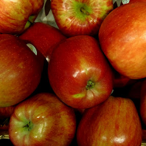 With apple a day, the doctor will be far from me by Elenka Smilenova - Food & Drink Fruits & Vegetables ( apple fruit food )
