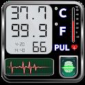 Body Temperature Fever : Thermometer Records Diary icon