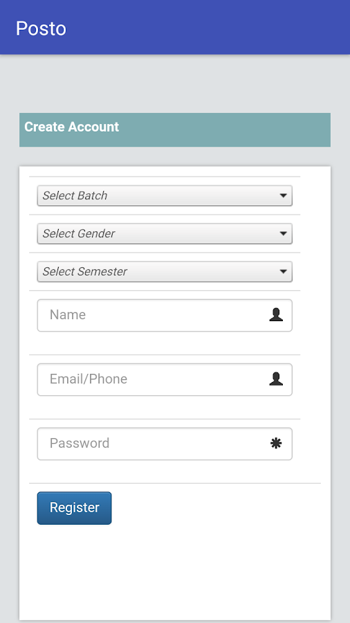 Posto - Portal Of Students and Teachers Operation- screenshot