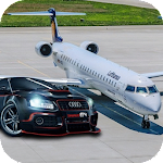 Airplane Car Transporter Drive 2018 Icon