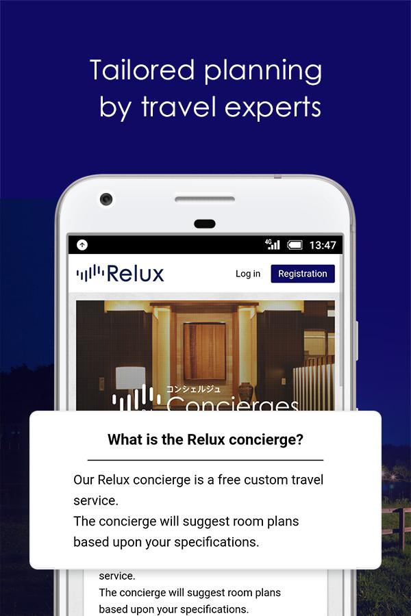 Relux - Hotels & Ryokans- screenshot