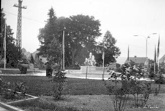 Photo: Wünschendorf im Erzgebirge - Platz der Jugend um 1970   Foto: Reiner Teichler