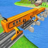 Bridge Building Sim: Riverside Construction Games
