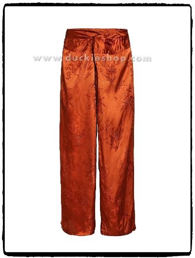 กางเกงแพรจีน กางเกงแพรโบราณ กางเกงนอนผู้ชาย ของขวัญคุณพ่อ ของขวัญแฟน
