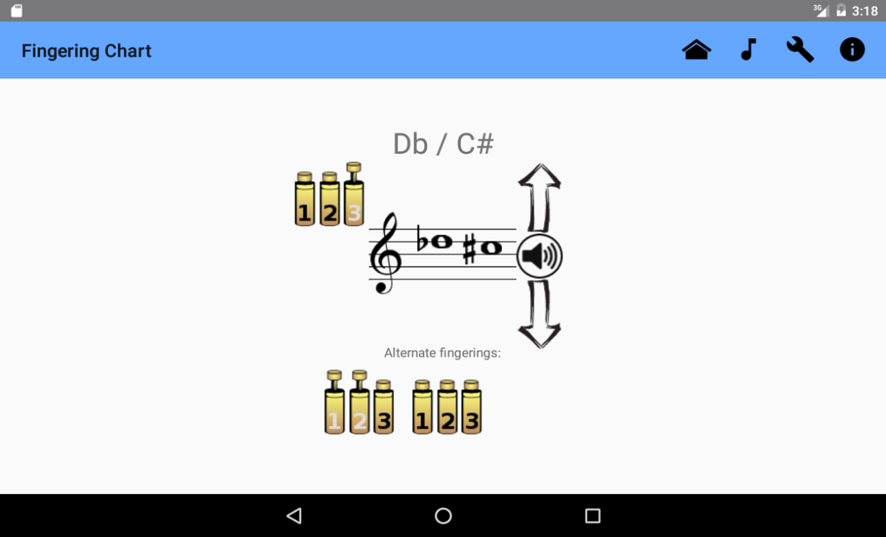 Trumpet Fingering Chart FREE Android Apps on Google Play – Trumpet Fingering Chart