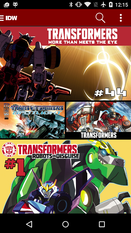 Transformers Comics- screenshot
