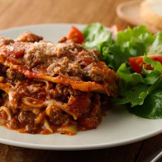 Easy Slow-Cooker Lasagna.