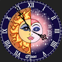 Celestial Moonlight Watch Face icon