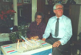 Photo: Hans en Adrie vd Herik 40 jaar getrouwd