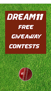 Dream11 Free Giveaway Contests - náhled