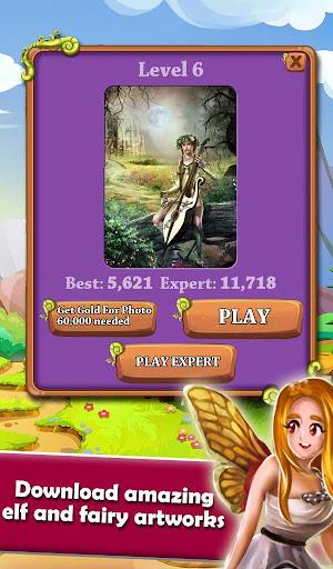 Mahjong Magic Worlds: Journey of the Wood Elves android2mod screenshots 4